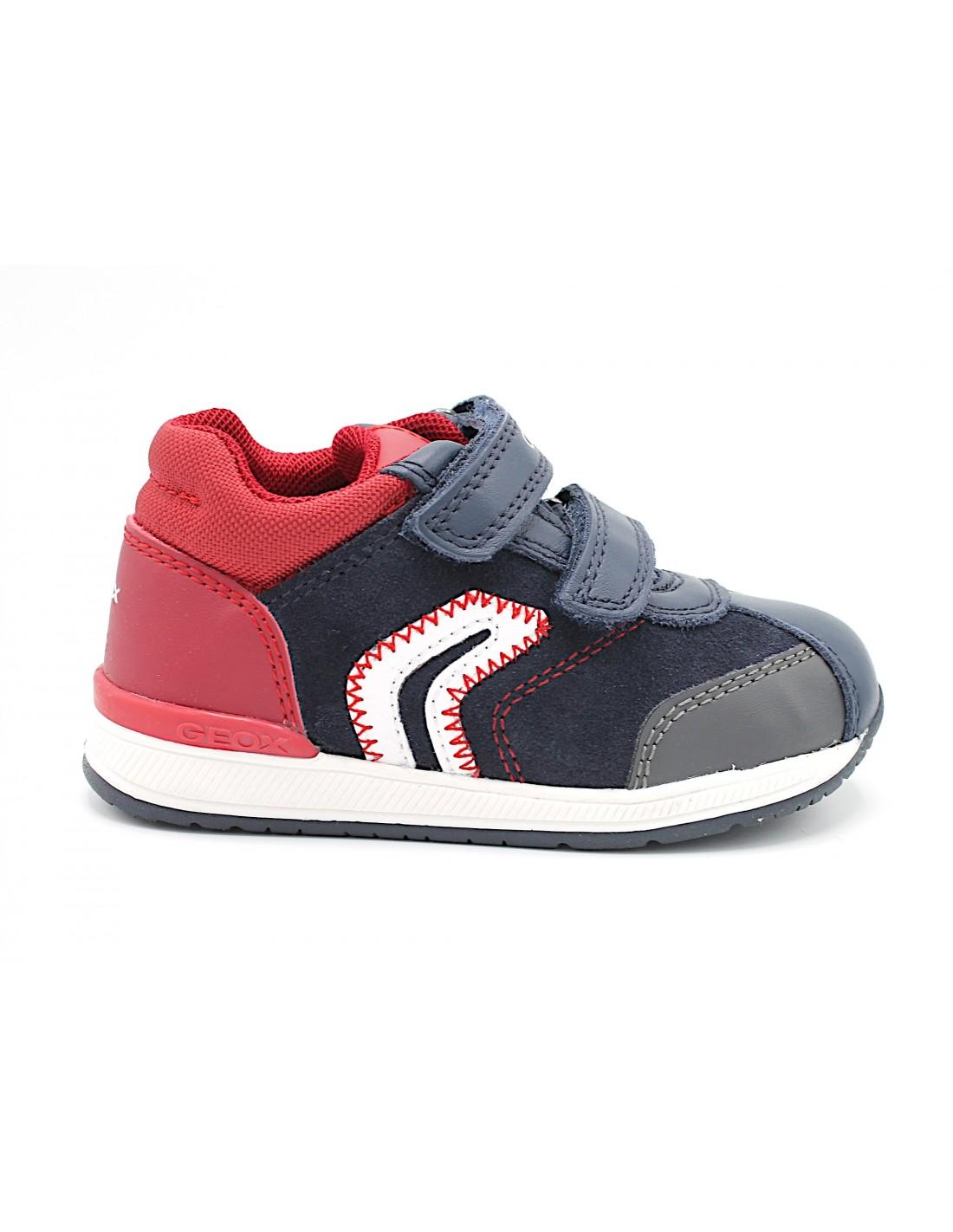 Geox scarpe da bambino primi passi per bimbo scarpa bambini sneakers con strappi | eBay