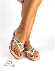 Sandali Artigianali in cuoio da donna fatti a mano capri positano Afrodite