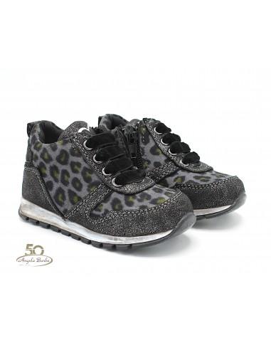 Cafè Noir scarpe da bambina sneakers primi passi grigio C350