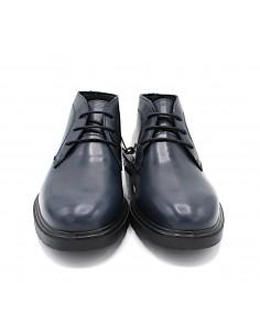 Igi & Co scarpe da uomo in vera pelle polacchine con lacci 4100111 Blu