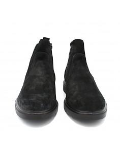 Igi & Co stivaletti da uomo in camoscio nero chelsea 4100333