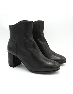 Igi & Co. stivaletti da donna tronchetti con tacco in pelle 4189700 nero