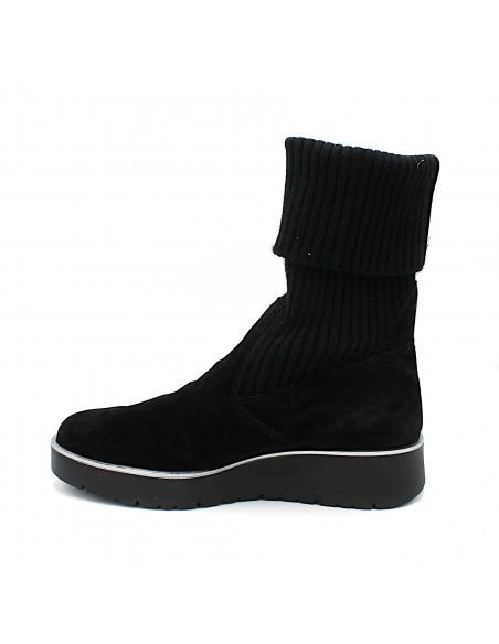Igi & Co. stivali da donna in camoscio nero 4169111