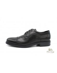 Geox scarpe da uomo classiche nere in pelle derby eleganti U64R2C Dublin