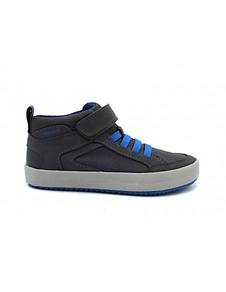 Geox scarpe da bambino sneakers con lacci elastici J942CN Alonisso