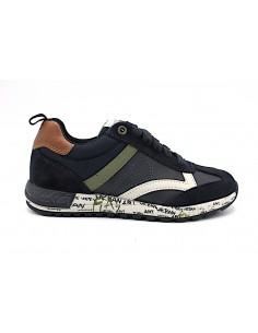 Geox scarpe da bambino sneakers con lacci Alben J929EA
